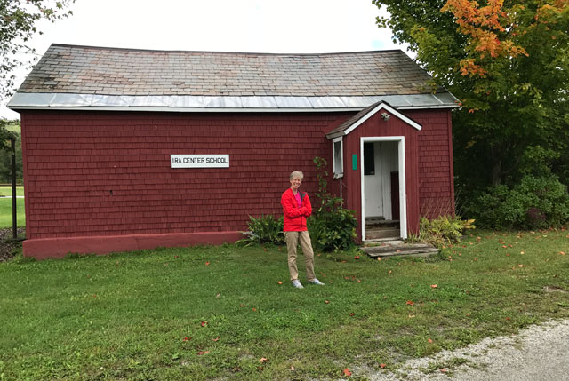 One room school house in Vt 2017