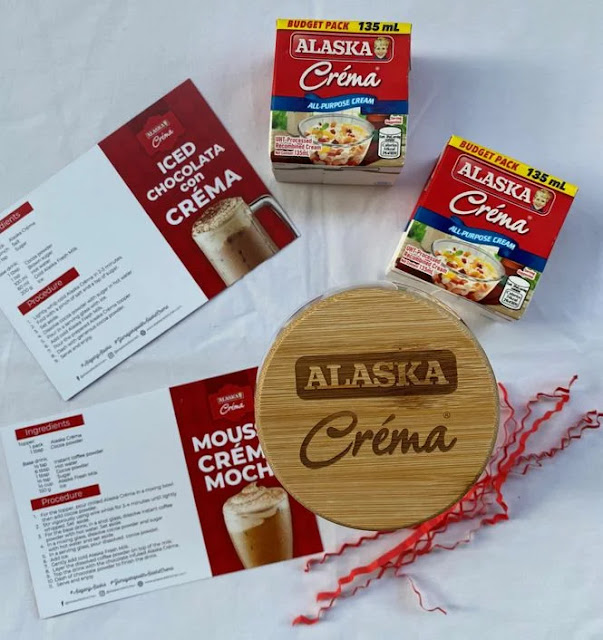 Drink recipes using Alaska Crema