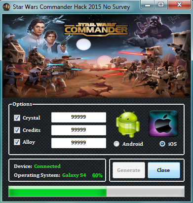 Star Wars Commander Cheats Download - hacksusa.com