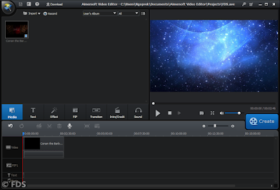 Aimersoft Video Editor-FDS