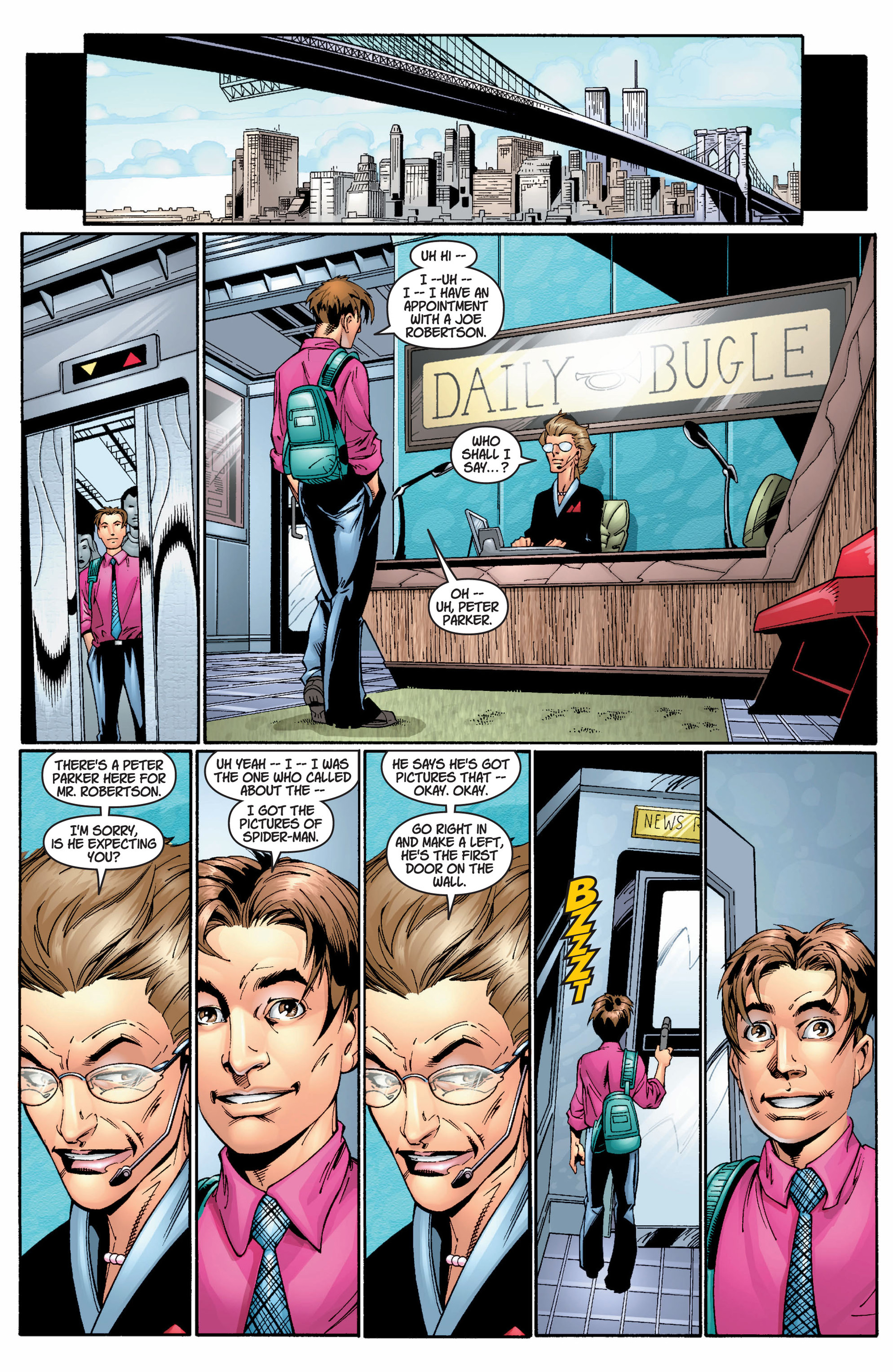 Read online Ultimate Spider-Man (2000) comic -  Issue #8 - 9