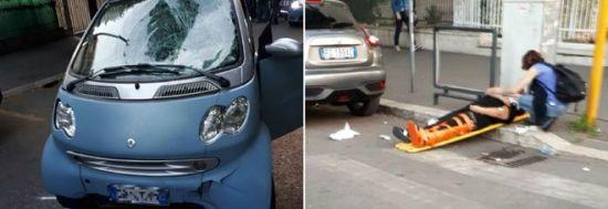 Roma, pomeriggio drammatico: tre incidenti nella giornata di ieri