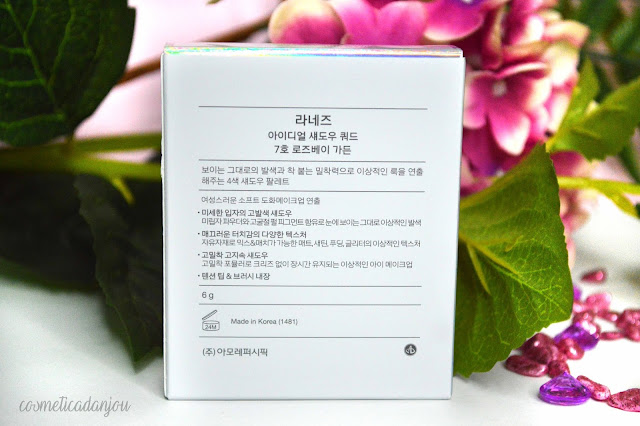 Laneige Ideal Shadow Quad No.7 Rosebay Garden
