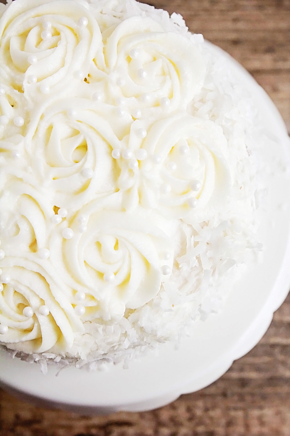 This elegant and delicious coconut layer cake is simple to make and always a favorite!