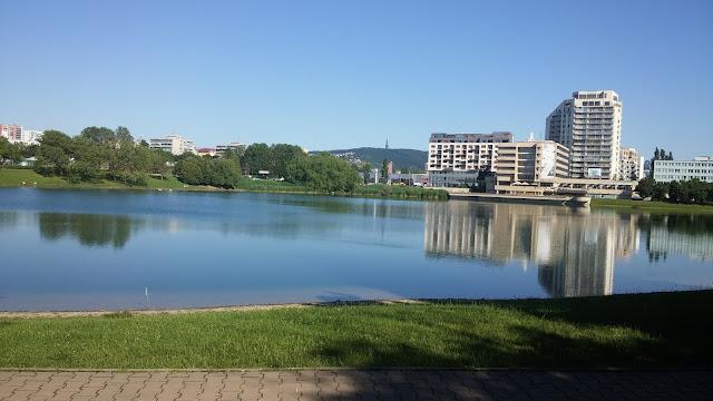 Lake in Bratislava :)