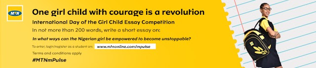 MTN mPulse Essay Competition For Primary & Secondry Schools In Nigeria 2019