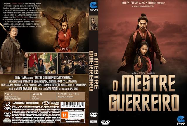 Capa DVD O Mestre Guerreiro