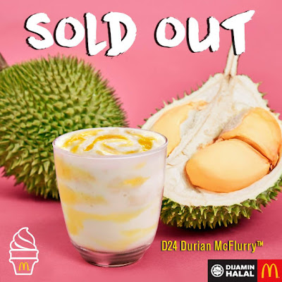 McDonald's Malaysia D24 Durian McFlurry
