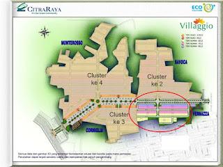 SitePlan Cluster Villagio