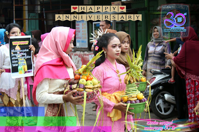 Karnaval Budaya HUT SMAN 1 Kaliwungu