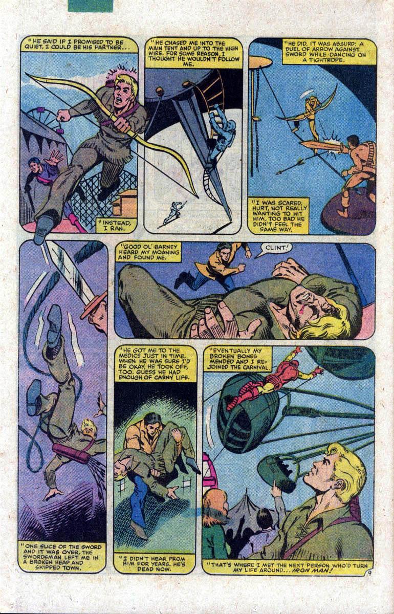 Hawkeye (1983) Issue #1 #1 - English 10