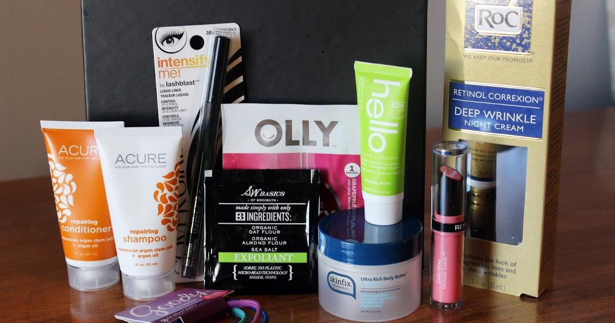 Glazed Over Beauty Target Beauty Box Fall 2015