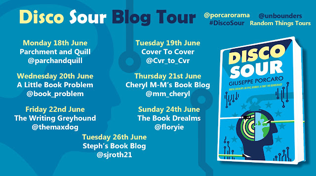 disco-sour, giuseppe-porcaro, book, blog-tour