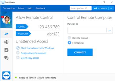 Cara Ampuh Mengendalikan Komputer/Laptop lewat Android dari Jarak Jauh dengan Team Viewer