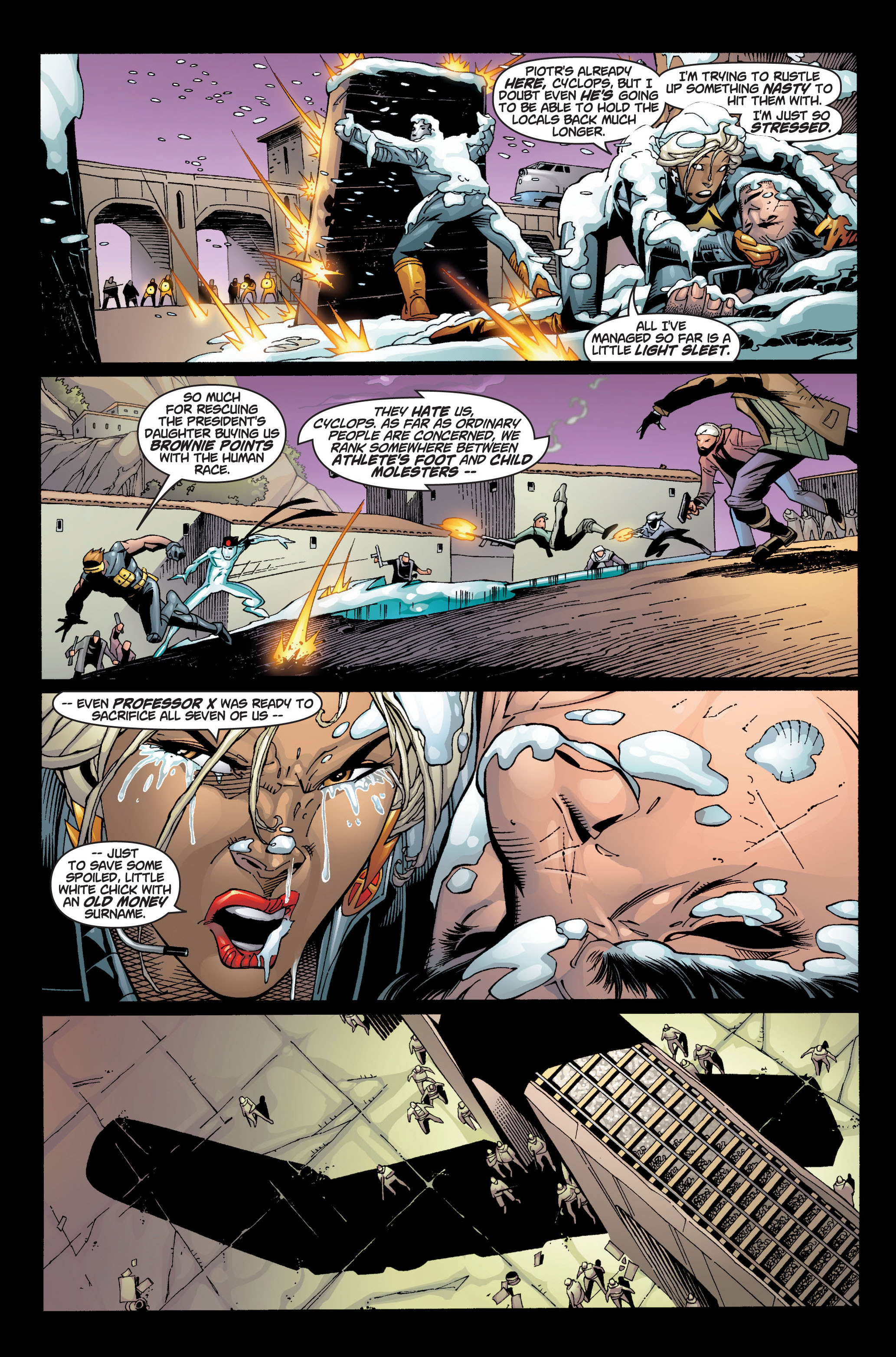Read online Ultimate X-Men comic -  Issue #4 - 5