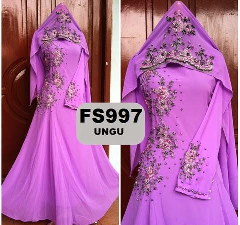 model baju gaun renda