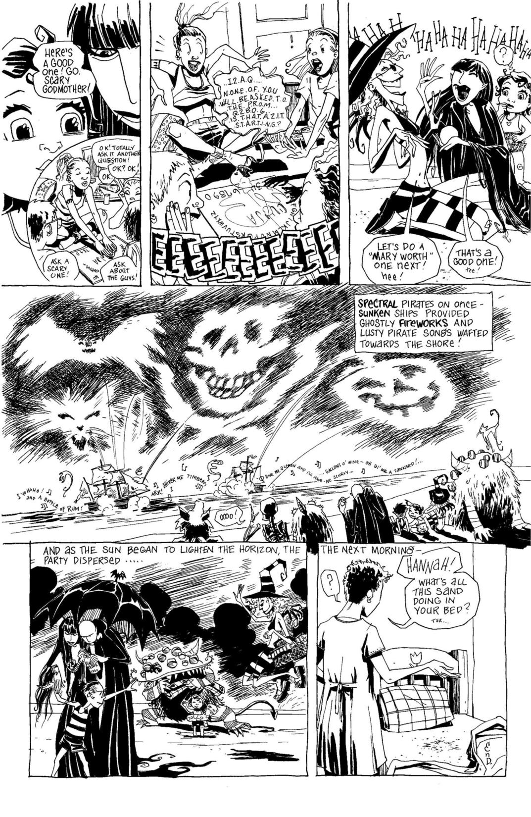Read online Scary Godmother Comic Book Stories comic -  Issue # TPB - 266