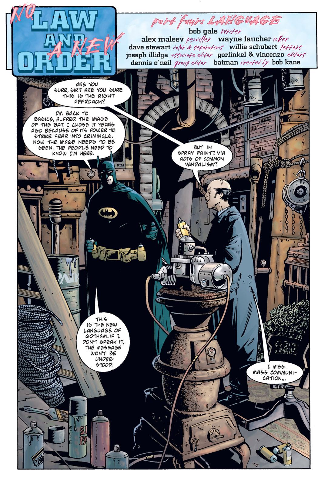 Detective Comics (1937) 730 Page 1