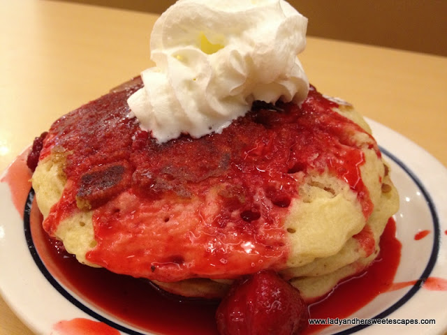 New York Cheese Cake Pancake
