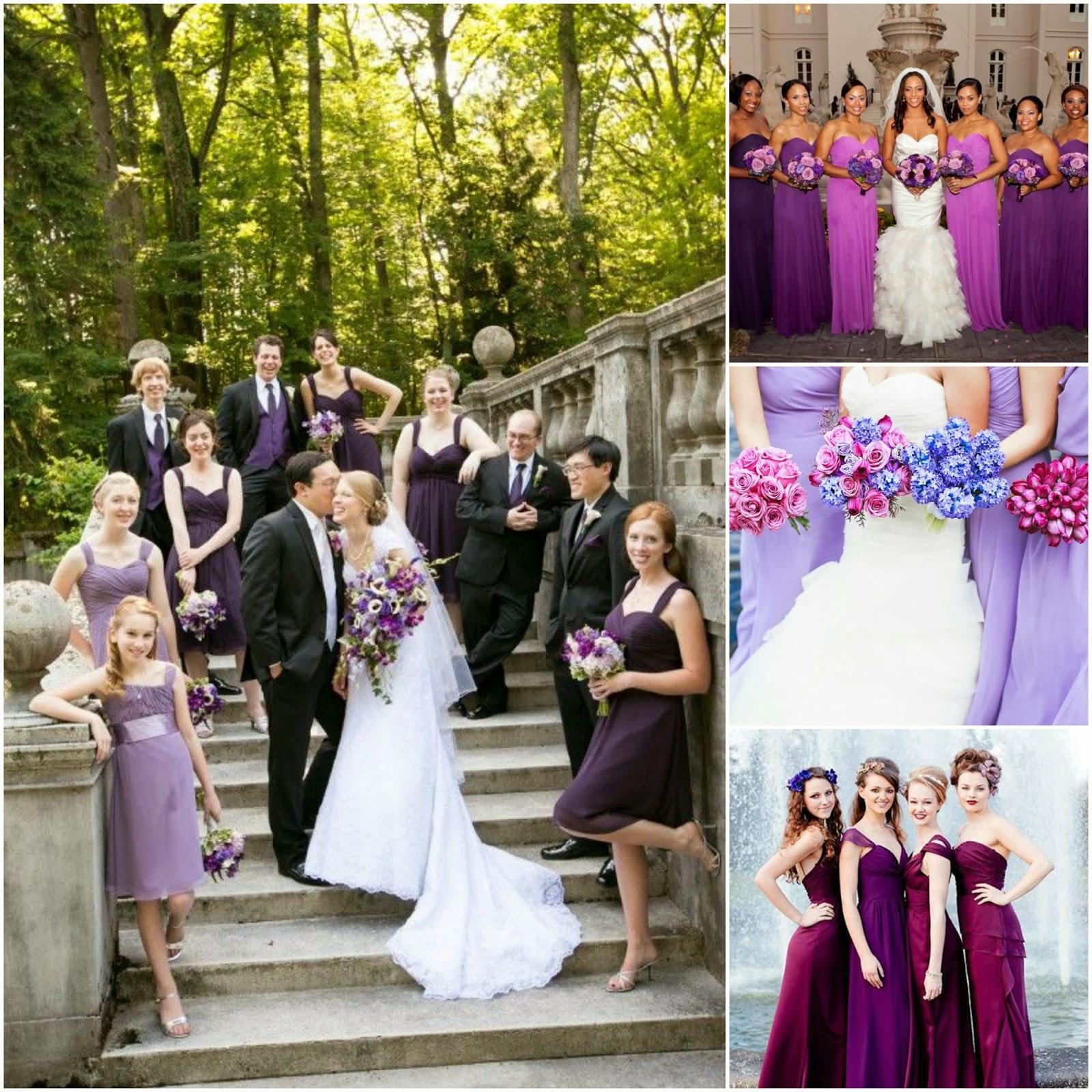 Radiant Orchid Wedding Motif Iloilo Wedding Network