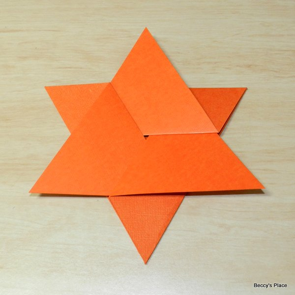 beccy s place tutorial star fold card