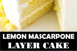 #Amazing #Recipes #Around #The #World #LEMON #MASCARPONE #LAYER #CAKE
