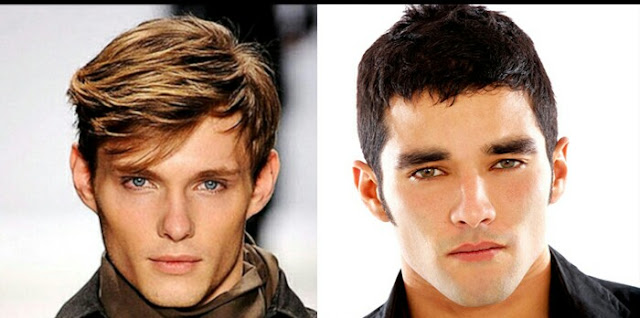 Terrific Men39S Hair Style For Your Face Shapes With A Perfect Photo Hairstyle Inspiration Daily Dogsangcom