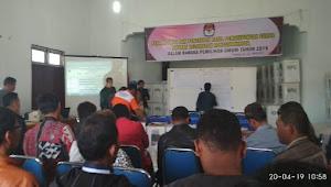 Rekapitulasi di Ronggurnihuta, Penyelenggara dan Saksi Sepakat Buka C1 Plano