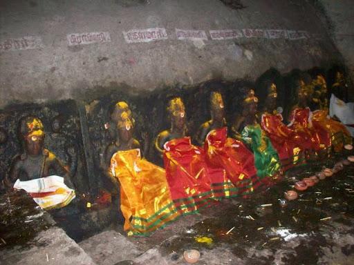 Saptha madha Pudukottai Temple