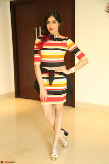 Adha Sharma in a Cute Colorful Jumpsuit Styled By Manasi Aggarwal Promoting movie Commando 2 (139).JPG