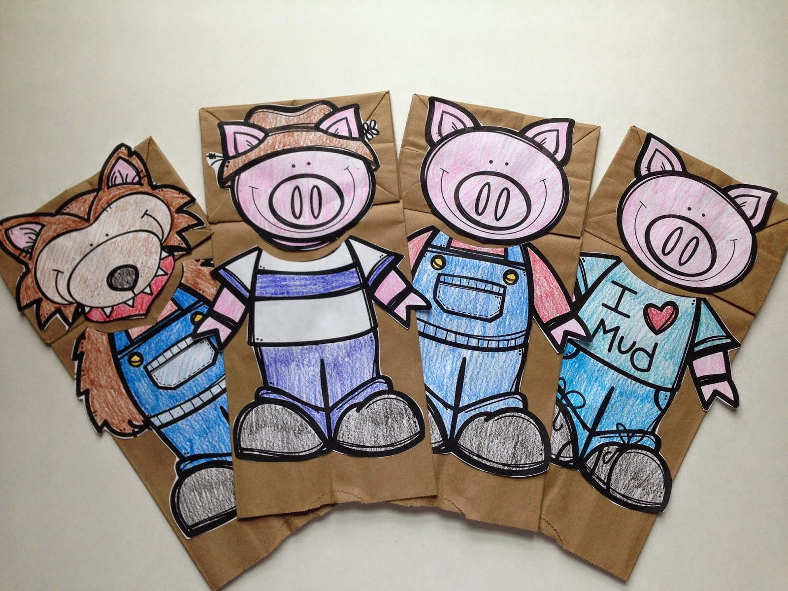 Teach Dream Inspire The Three Little Pigs A Fairy Tale Study