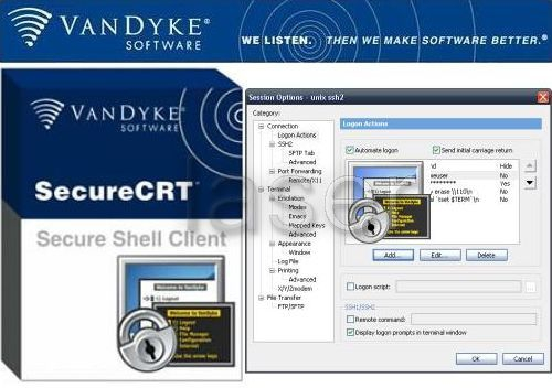 VanDyke SecureCRT V7.1.1.264 X64 Incl Crack + Key [TorDigger] Setup Free