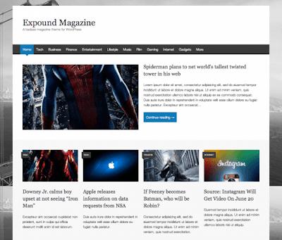 expound magazine