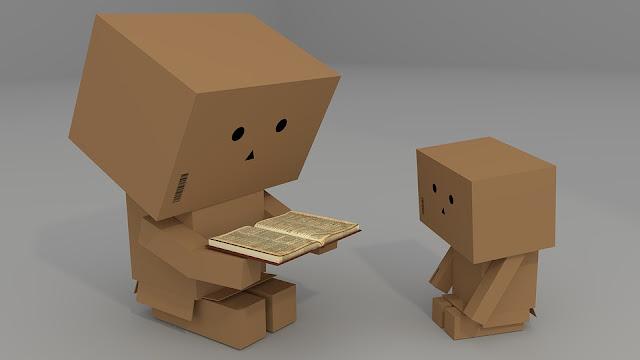 cajas, libros, cartón, manualidades, diys