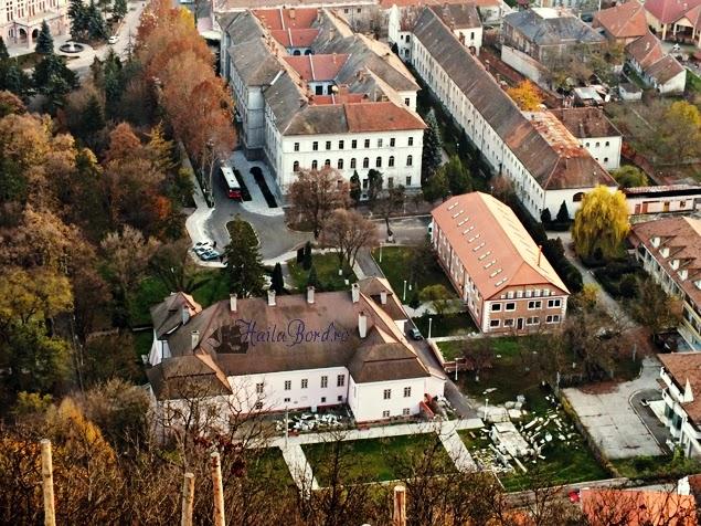 palatul magna curia bethlen deva vedere cetate