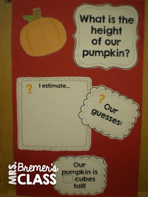 Lots of fall pumpkin activities for Kindergarten!