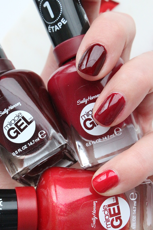 Sally Hansen Red For Party