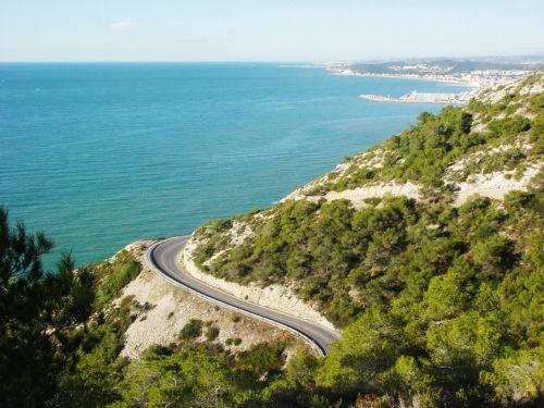 Best driving roads in Barcelona