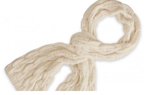 Patron Crochet Bufanda Trenzas
