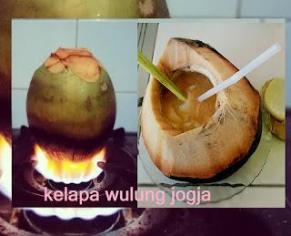 khasiat kelapa wulung bakar