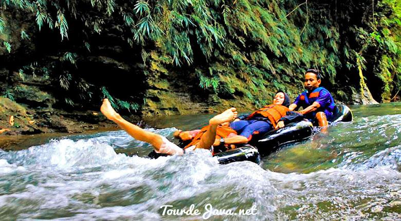 arung jeram river tubing santirah