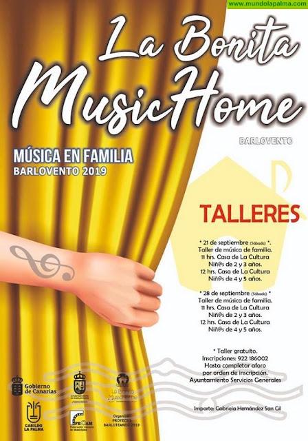 La Bonita Music Home - Música en Familia Barlovento 2019