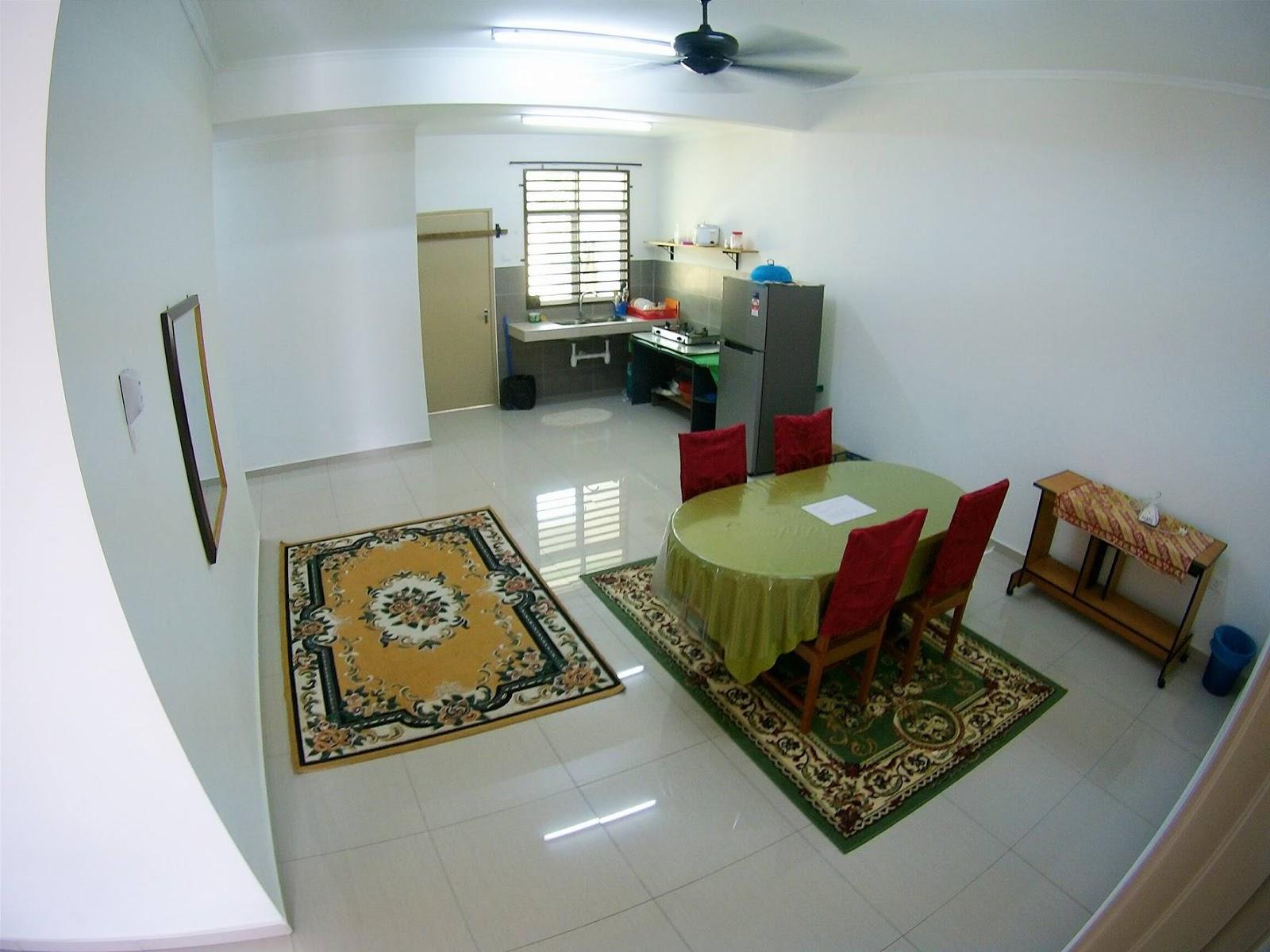 Marma Homestay Melaka Rumah Semi D Ruang Makan Dan Dapur