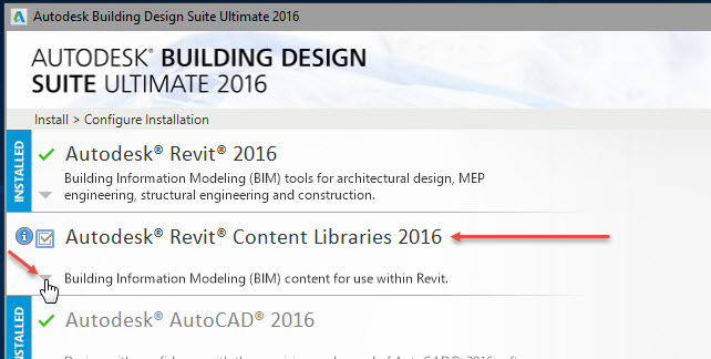 Revit OpEd: Revit 2016 Missing Content after Installation
