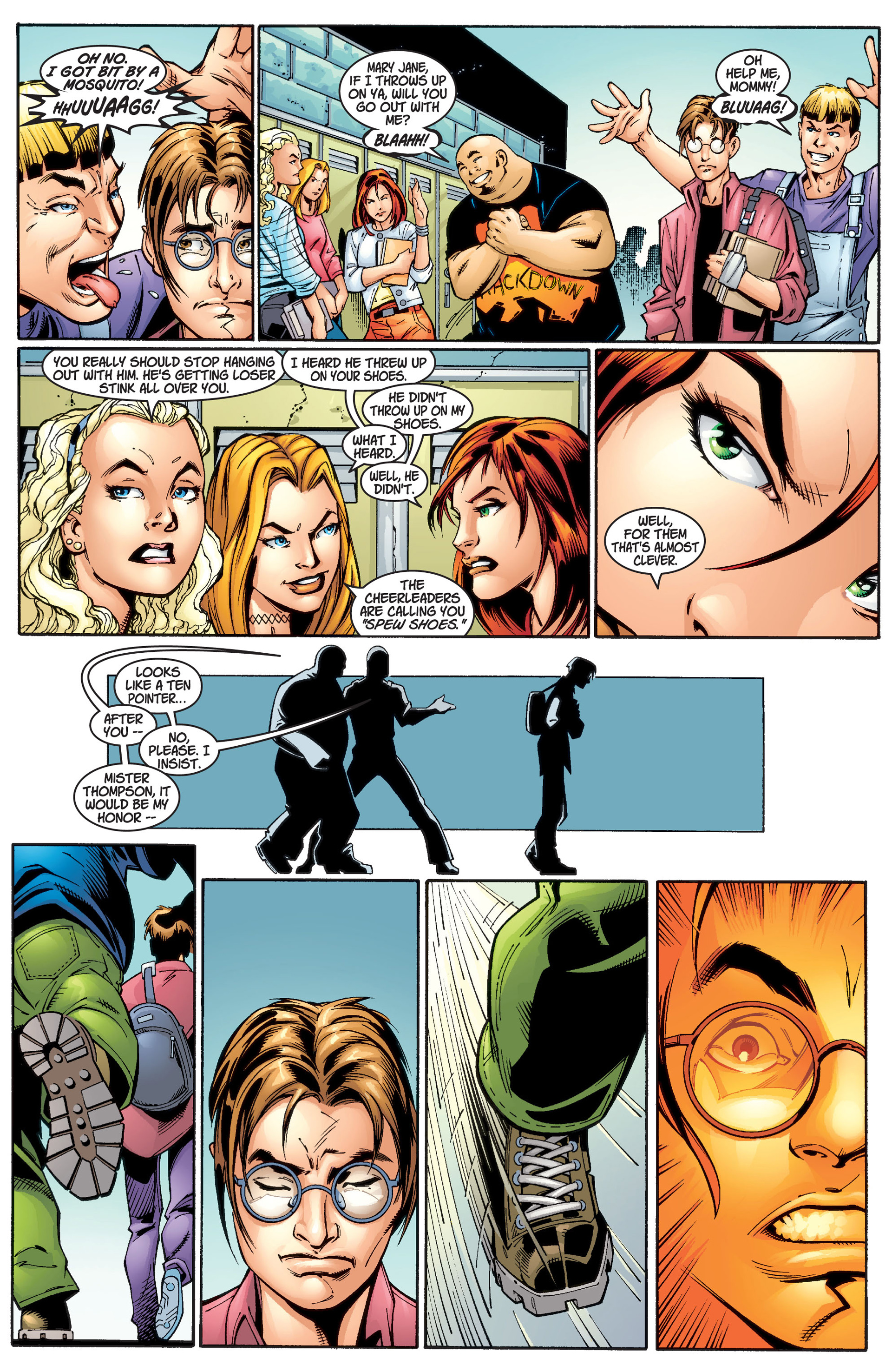 Read online Ultimate Spider-Man (2000) comic -  Issue #1 - 28
