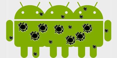 ciri android terserang virus, cara mencegah android kena malware