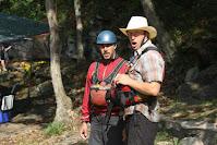 Chris Baer, Josh Bradford, Khaki cowboy big baer helmet Gauley river WV