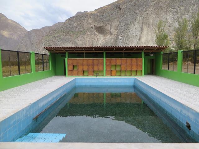 Baños de Coñec Cañón Cotahuasi