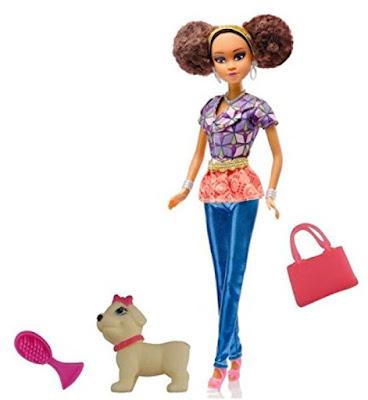 Кукла из Нигерии из серии Королевы Африки