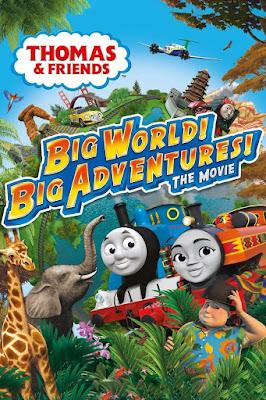 Thomas & Friends: Big World! Big Adventures! The Movie Poster
